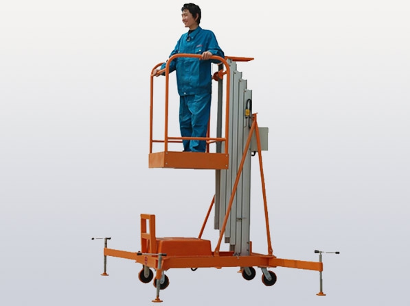 液压升降机日常维护需注意除锈防锈(图1)